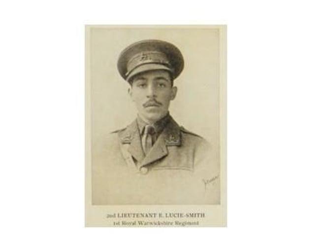 Lieutenant Euan Lucie-Smith.