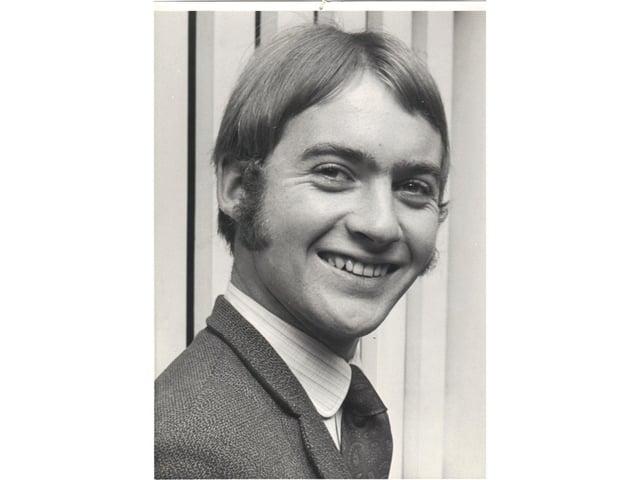 John Phillpott, when he was an Advertiser reporter in the 1960s