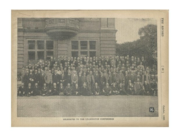 Founders of the Transport and General Workers' Union (TGWU).