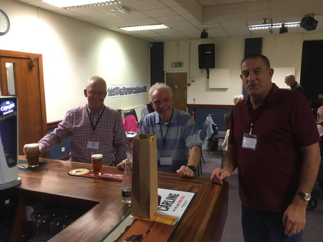 About 40 people shared their memories at the event on Saturday September 4 at the Kenilworth Sports and Social Club.