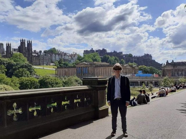 James Meakin, who went to Lawrence Sheriff School and is now a student at Durham University, self-published his first novel this summer, titled Two Dead Dissidents.